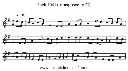 Nhạc nước ngoài: Jack Hall
