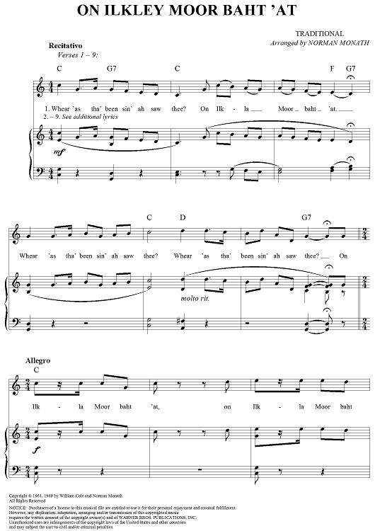 Nhạc nước ngoài: On Ilkla Moor Baht 'at
