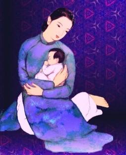 Bài hát ru con ngủ Nam bộ: Cầm vàng mà lội qua sông